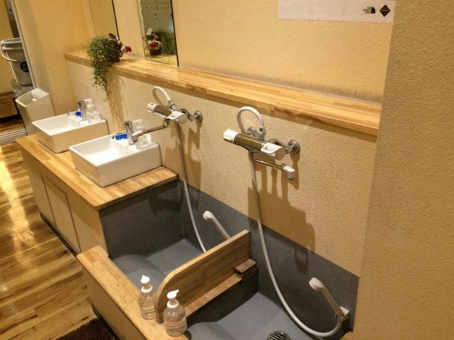 ボルダリングジムADSUMMUM(アドスムム)洗面スペース
