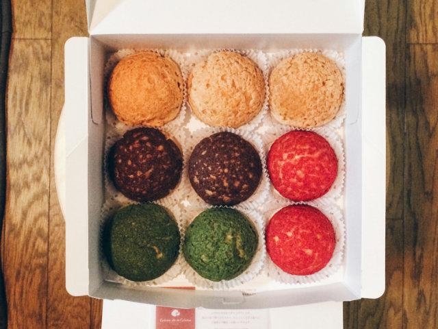 桂川イオンの「Crème de la Crème」のクッキーシューがカラフルでお土産に最高!