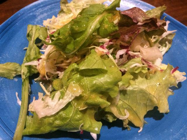 グリルデミのサラダ