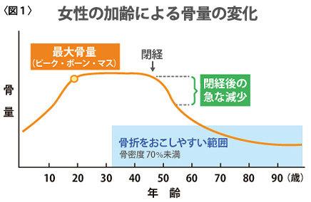 骨密度グラフ