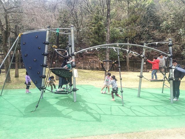 【宝が池公園】子どもの楽園/複合遊具
