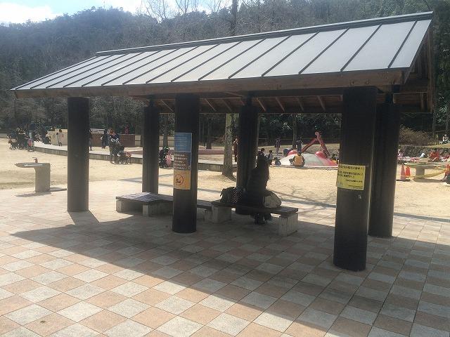 【宝が池公園】子どもの楽園/休憩スペース