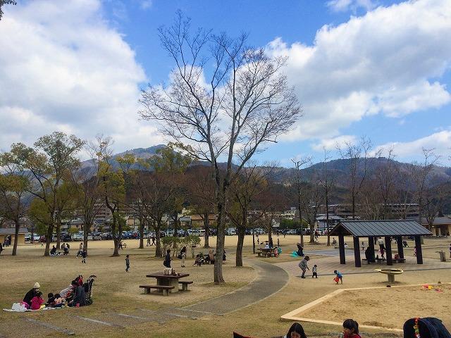 [宝が池公園]子どもの楽園は無料で遊べて子連れにサイコーの公園!