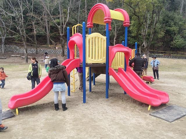【宝が池公園】子どもの楽園/幼児用複合遊具