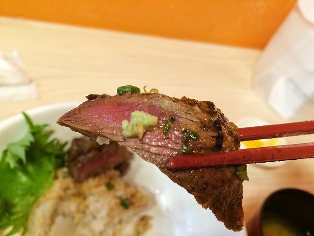 マルタケ 精肉店ステーキ丼