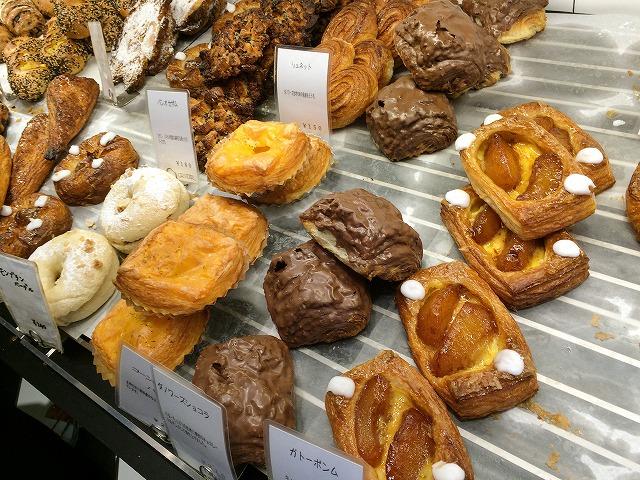 京都市役所のすぐ近く「グランディール 御池店」のパン