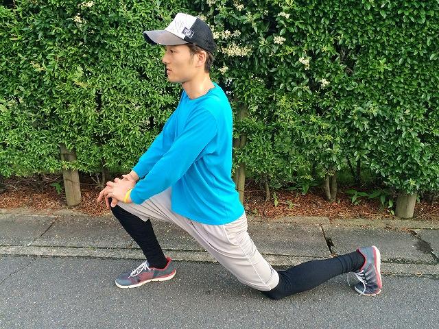 腸腰筋を緩めるストレッチ