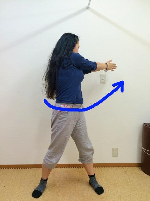 腰をひねると痛みの出る人!背中と脇の下を伸ばせば治ります