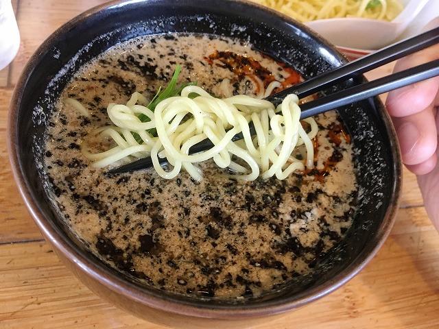 長岡京市のつけ担々麺専門「風来坊」のつけ麺がクセになるほどうまい!