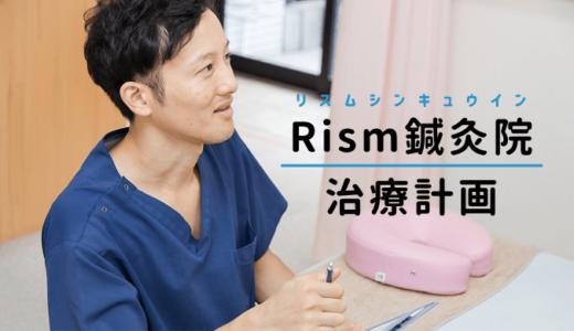 リズム鍼灸院の治療計画について