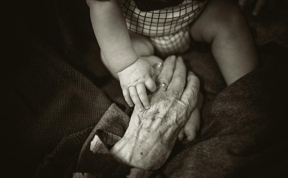 亡くなった祖母